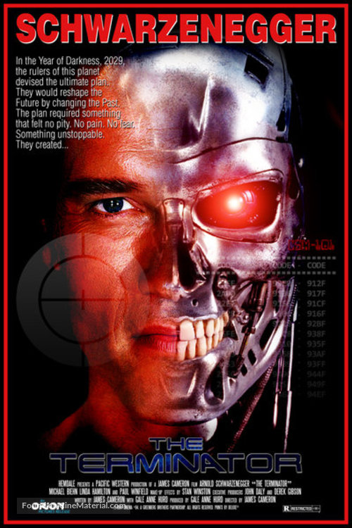 The Terminator - Movie Poster