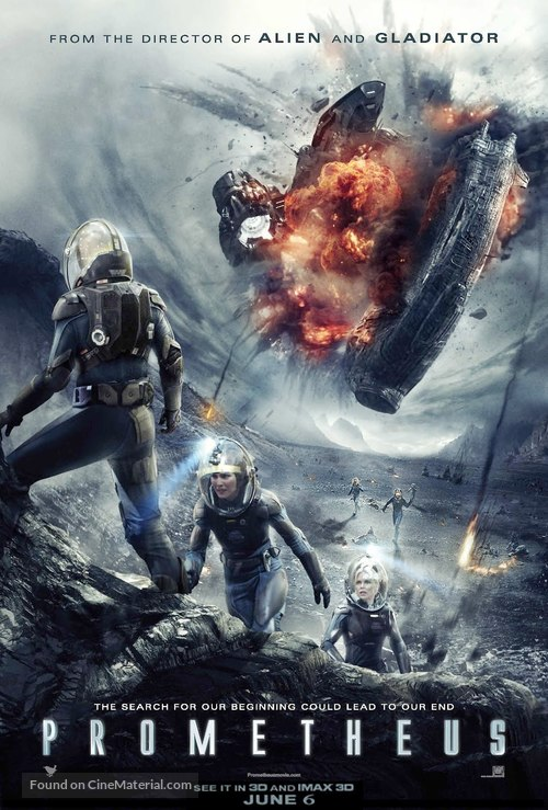Prometheus - Malaysian Movie Poster