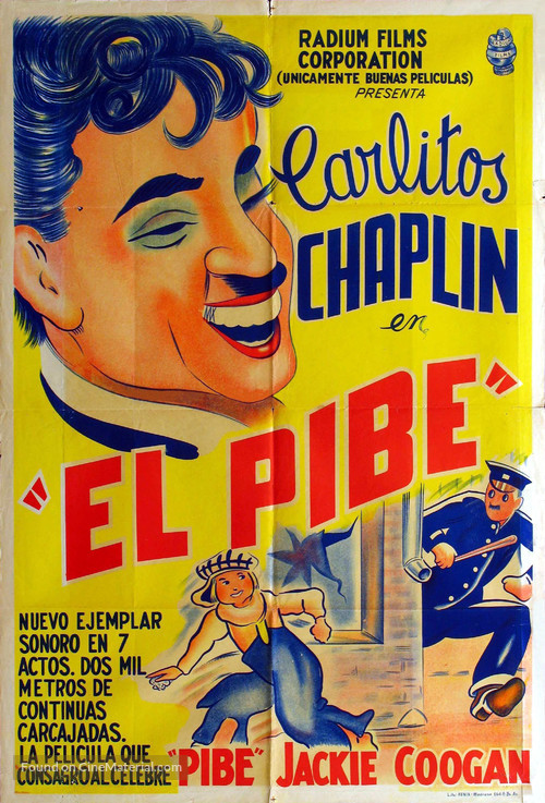 The Kid - Argentinian Movie Poster
