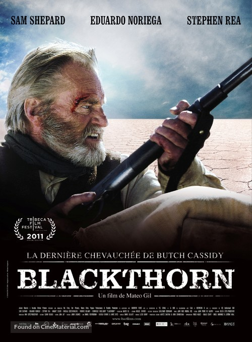 Blackthorn - French Movie Poster