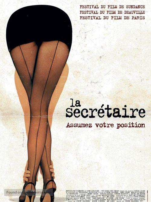 Secretary - French Movie Poster