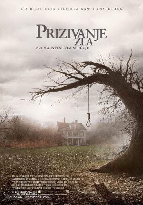 The Conjuring - Serbian Movie Poster