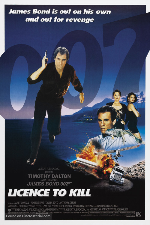 Licence To Kill - Movie Poster