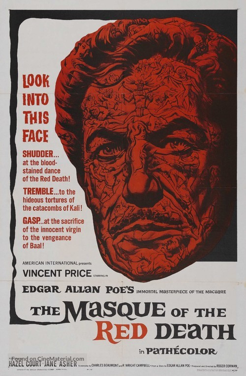 The Masque of the Red Death - Theatrical movie poster