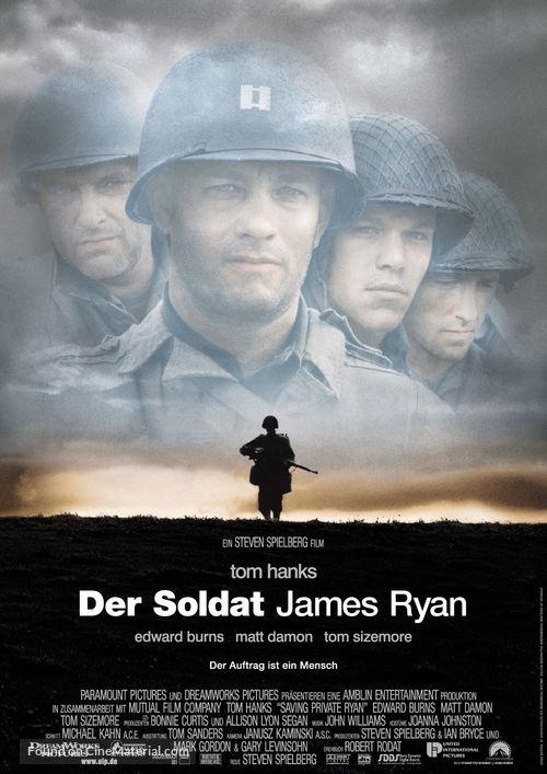 Saving Private Ryan - German Movie Poster