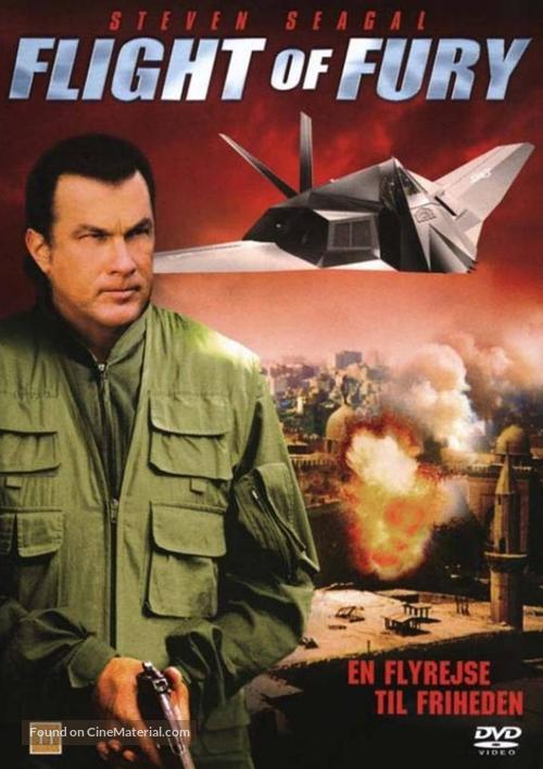 Flight of Fury - Danish Movie Cover