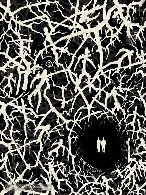 """True Detective"" - Blu-Ray movie cover"