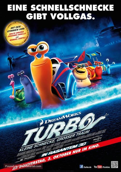 Turbo - German Movie Poster