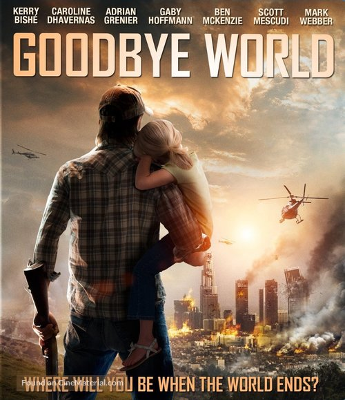 Goodbye World - Blu-Ray movie cover