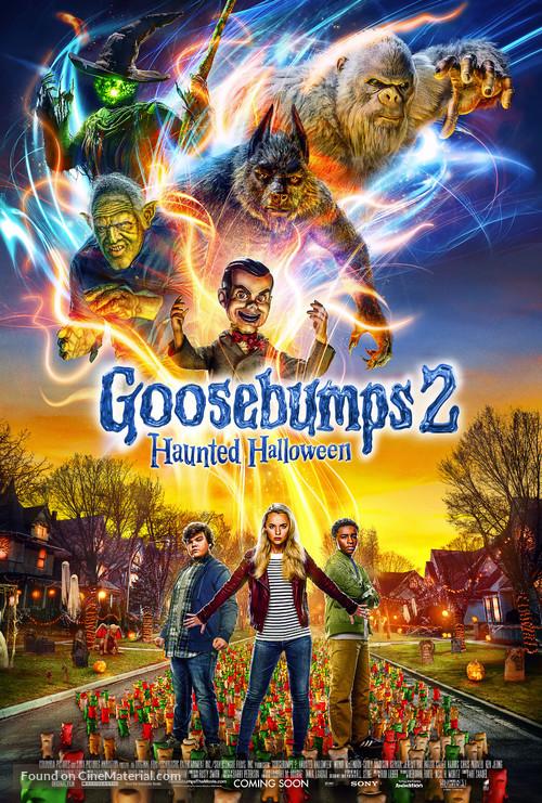 Goosebumps 2: Haunted Halloween - British Movie Poster