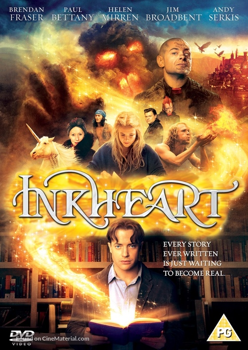 Inkheart - British DVD movie cover