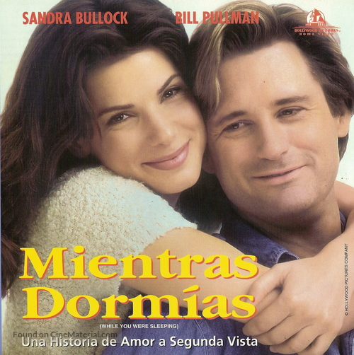 While You Were Sleeping - Argentinian Movie Cover
