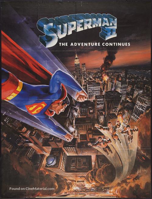 Superman II - British Movie Poster