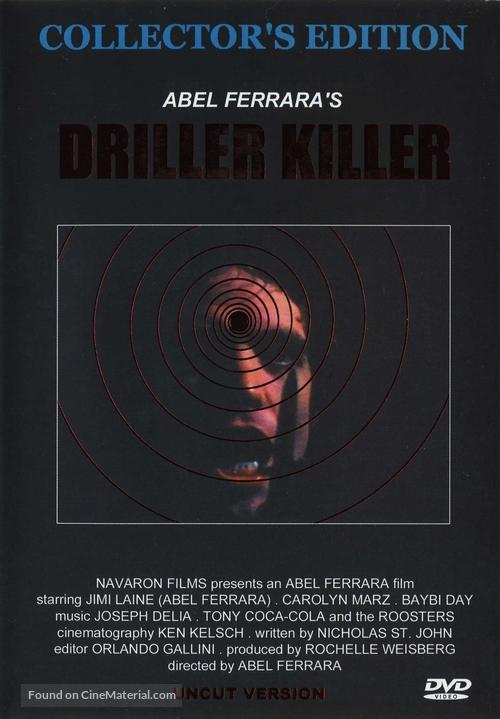 The Driller Killer - DVD cover