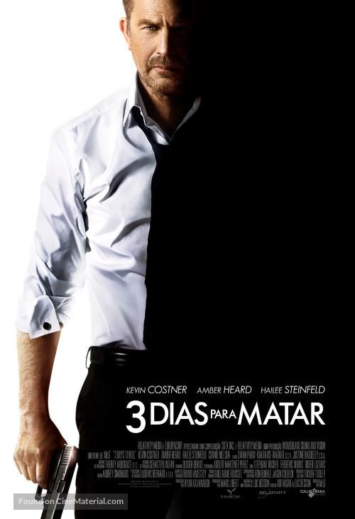3 Days to Kill - Brazilian Movie Poster