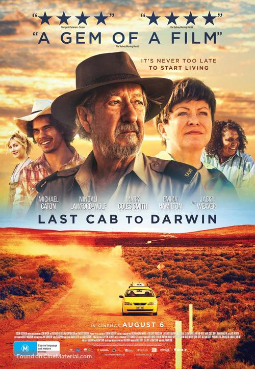 Last Cab to Darwin - Australian Movie Poster