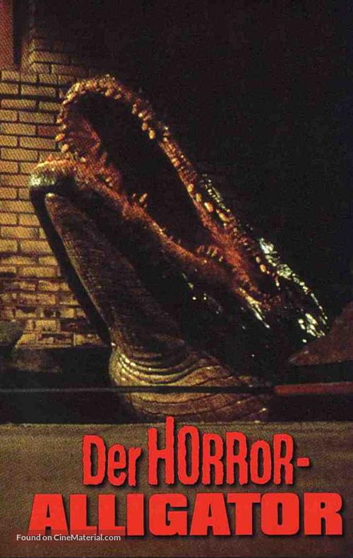 Alligator - German Movie Cover
