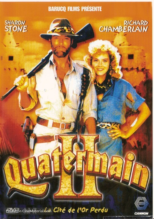 Allan Quatermain and the Lost City of Gold - French DVD movie cover