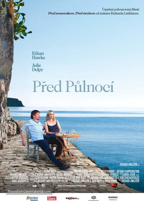 Before Midnight - Czech Movie Poster