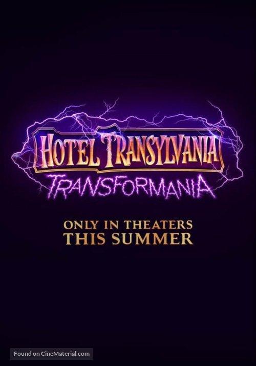 Hotel Transylvania: Transformania - Movie Poster