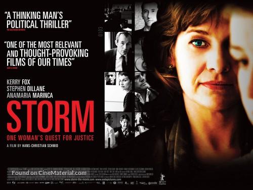 Storm - British Movie Poster