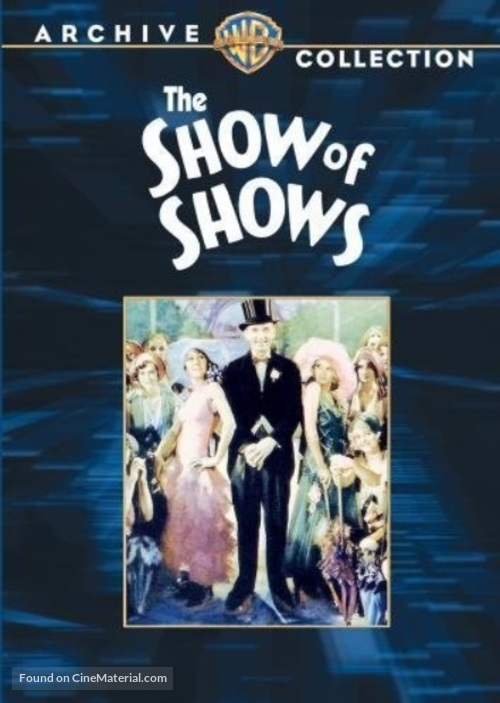 The Show of Shows - DVD movie cover