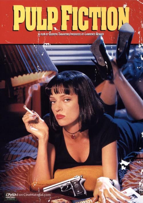 Pulp Fiction - DVD cover