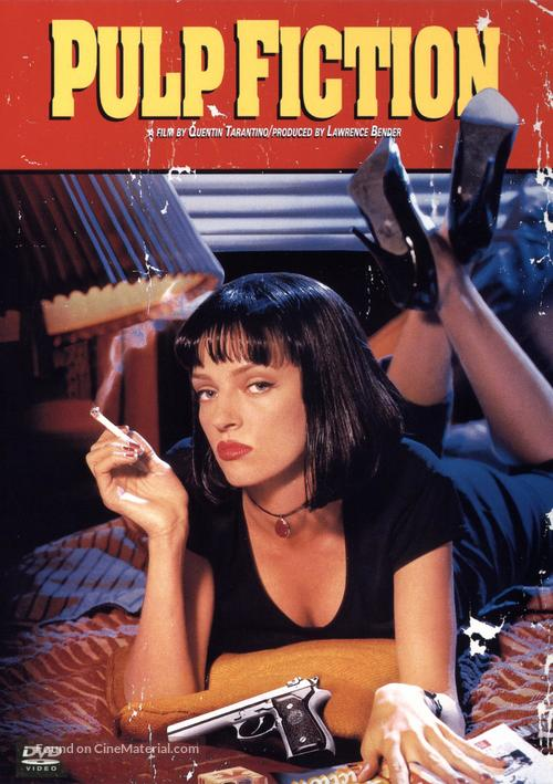 Pulp Fiction - DVD movie cover