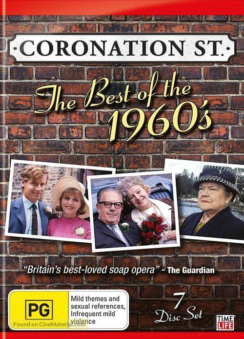"""Coronation Street"" - Australian DVD movie cover"