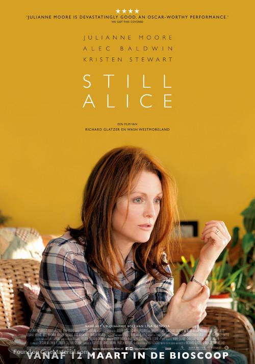 Still Alice - Dutch Movie Poster