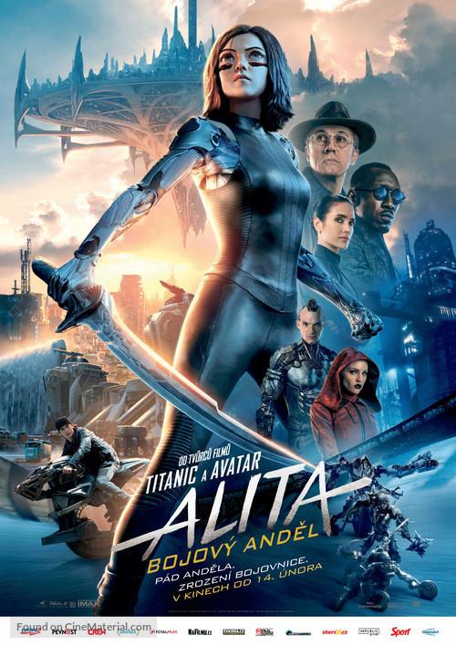 Alita: Battle Angel - Czech Movie Poster