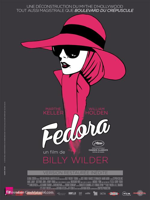 Fedora - French Movie Poster