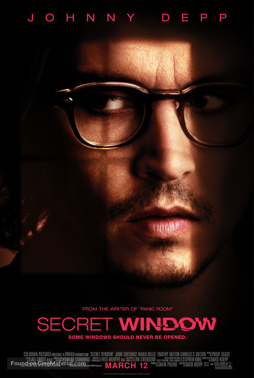 Secret Window - Movie Poster