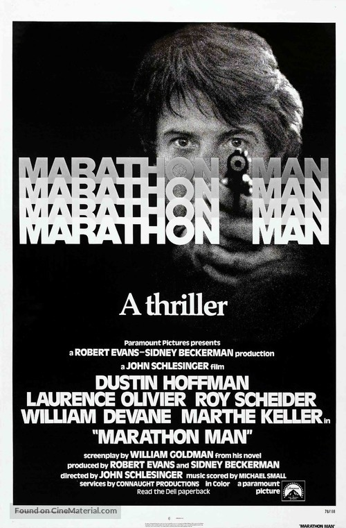 Marathon Man - Movie Poster