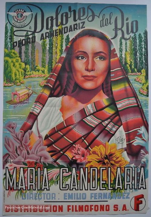 María Candelaria - Spanish Movie Poster