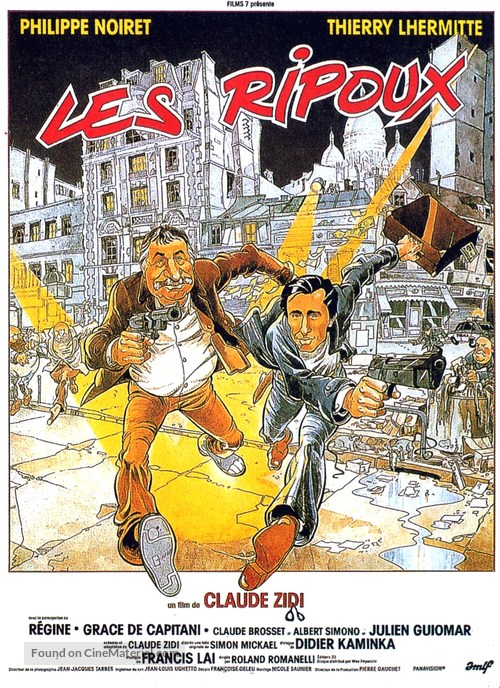 Les ripoux - French Movie Poster