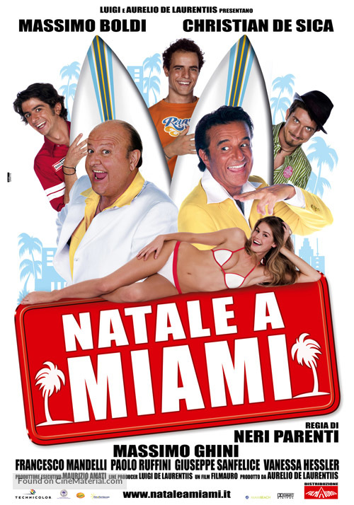 Natale a Miami - Italian Movie Poster