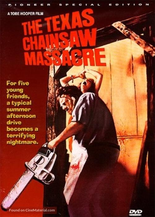 The Texas Chain Saw Massacre - DVD movie cover