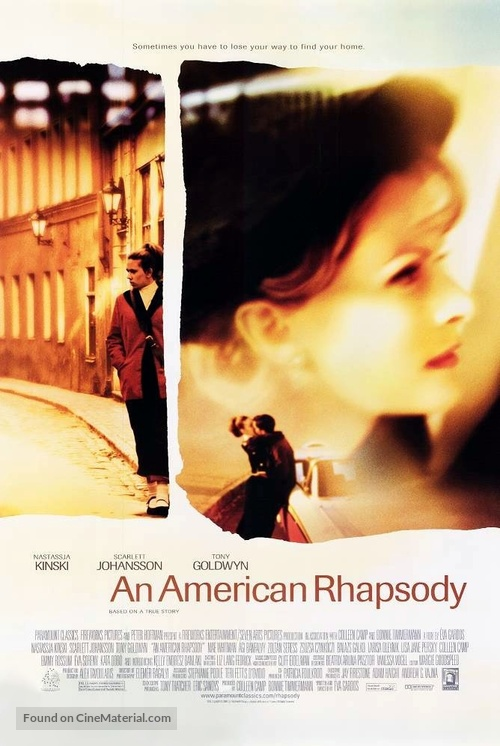 An American Rhapsody - Movie Poster