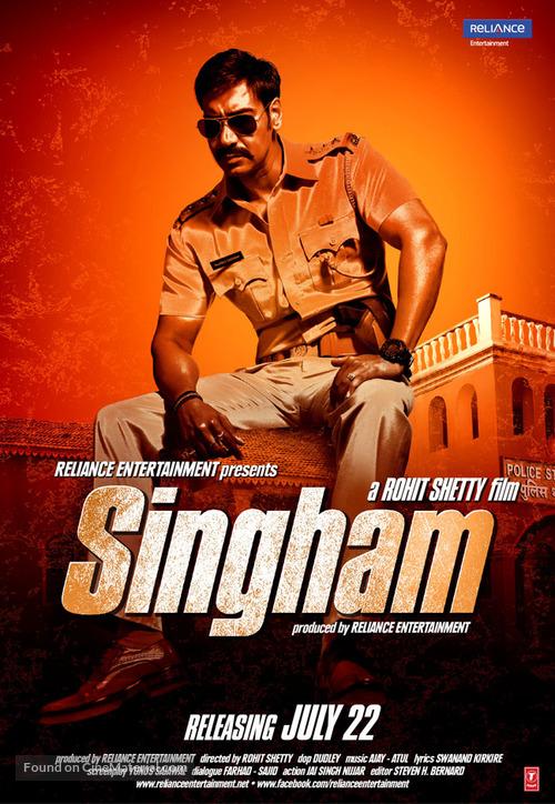 Singham (2011) Hindi 480p BluRay Esubs 450MB