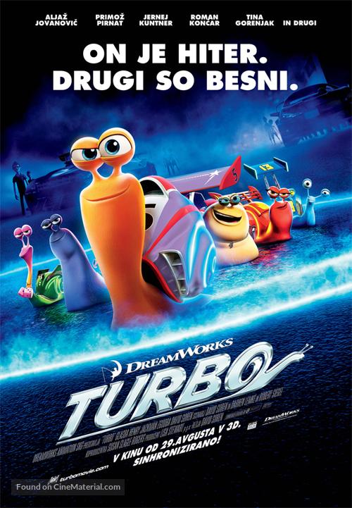 Turbo - Slovenian Movie Poster