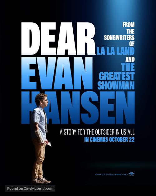 Dear Evan Hansen - British Movie Poster