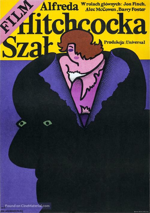 Frenzy - Polish Movie Poster