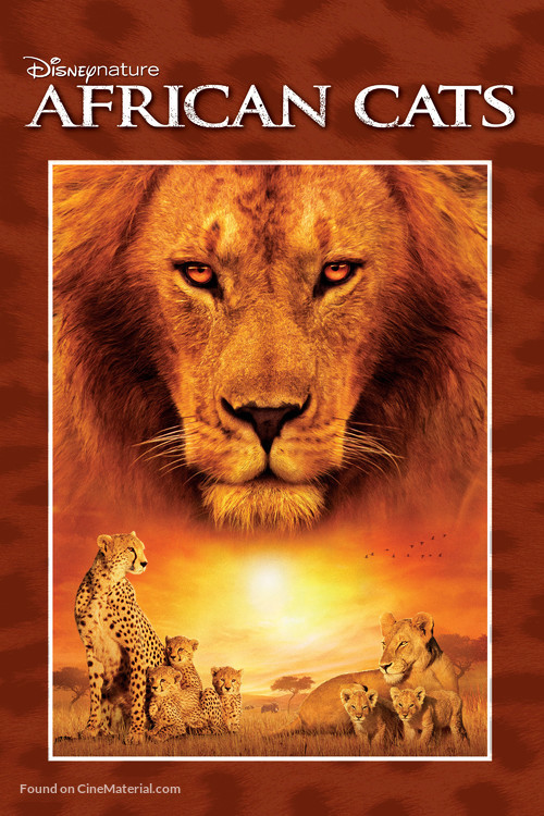 African Cats - DVD movie cover