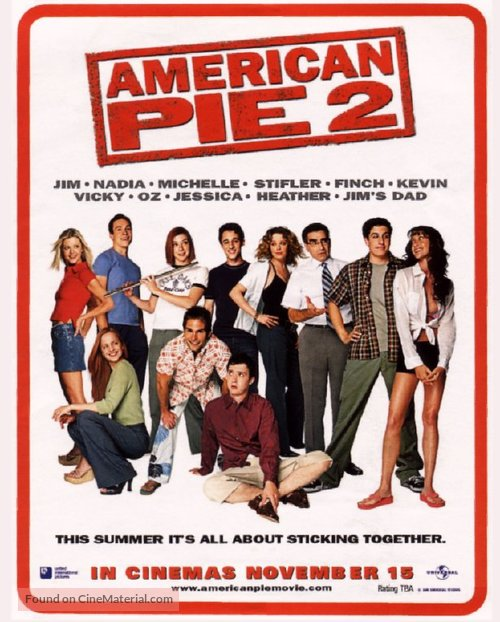 American Pie 2 - Movie Poster