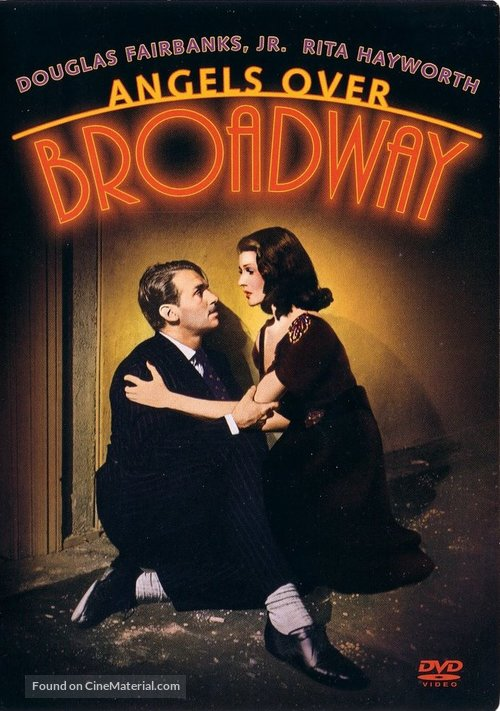 Angels Over Broadway - DVD movie cover
