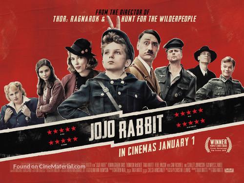 Jojo Rabbit - British Movie Poster