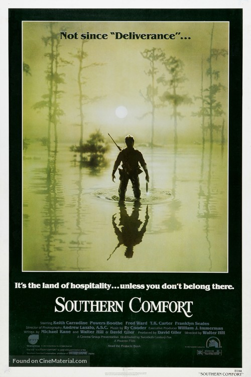 Southern Comfort - Movie Poster