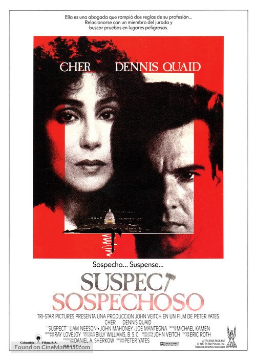 Suspect - Spanish Movie Poster