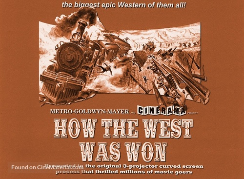 How the West Was Won (1962) movie poster